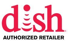 Logo for Dish Network Authorized Retailer