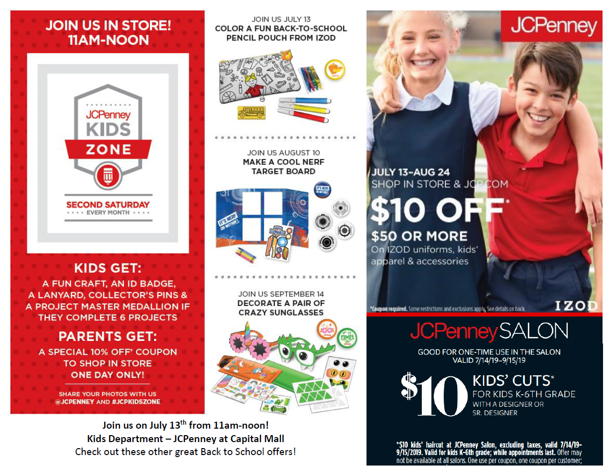 556e8248a57 JCP Kids Department July 13th – Capital Mall – Premier Shopping ...